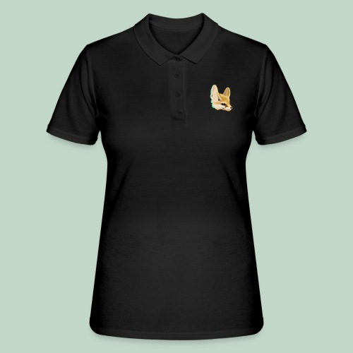 fox head - Women's Polo Shirt