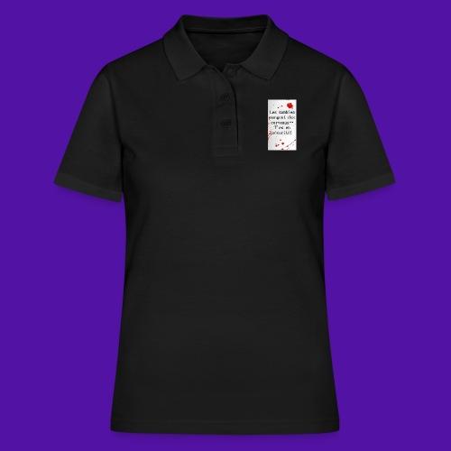 Les zombies mangent des cerveaux... - Women's Polo Shirt