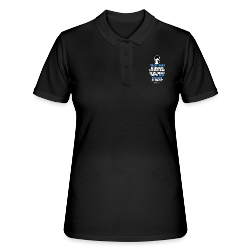 T-Shirt Steve Jobs - Great Things in Business.. - Women's Polo Shirt