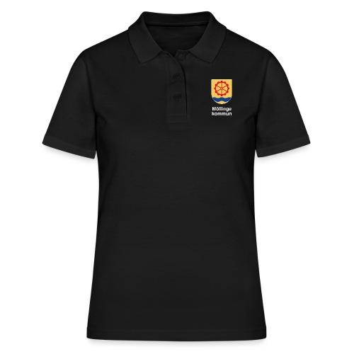 Möllinge kommun vit - Women's Polo Shirt