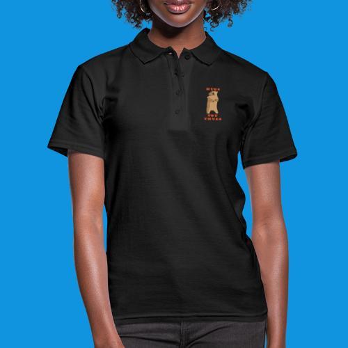 Hugs Not Thugs.png - Women's Polo Shirt