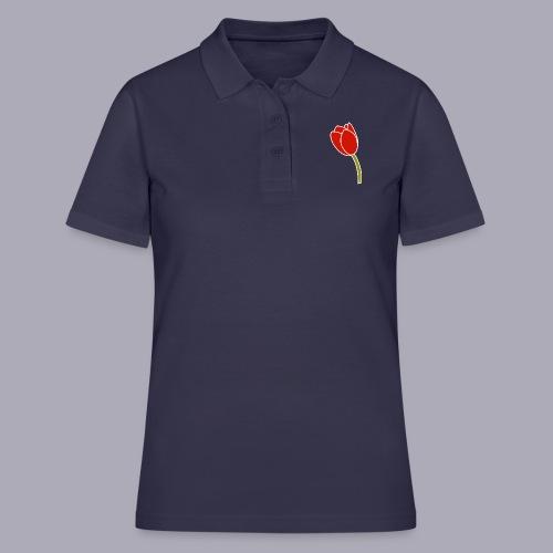 Tulip Logo Design - Women's Polo Shirt