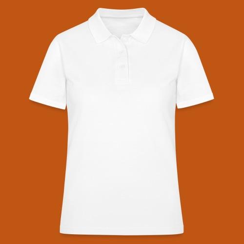 Skater / Skateboarder 02_weiß - Frauen Polo Shirt