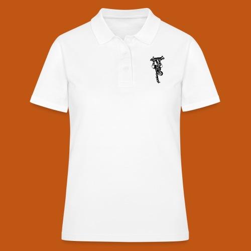 Skater / Skateboarder 02_schwarz weiß - Frauen Polo Shirt