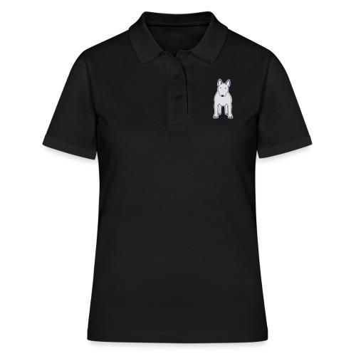 BULLTERRIER FRONT - Frauen Polo Shirt