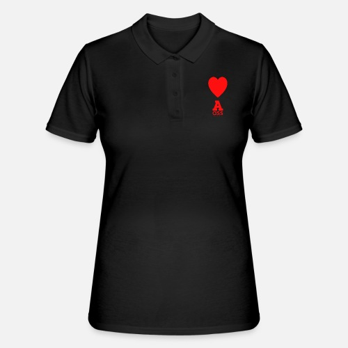 HERZ ASS - Frauen Polo Shirt