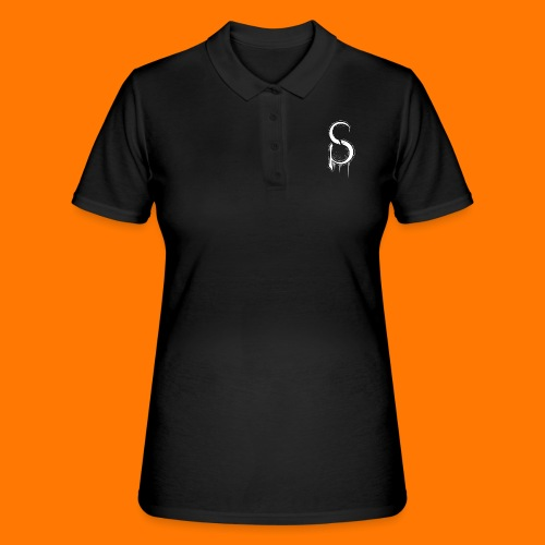 SCP-sign-WHITE transp - Women's Polo Shirt