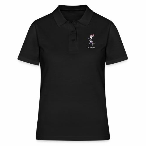 Fitcorn - das sportliche Einhorn - Frauen Polo Shirt