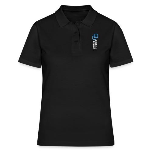 Dark bg copy - Women's Polo Shirt