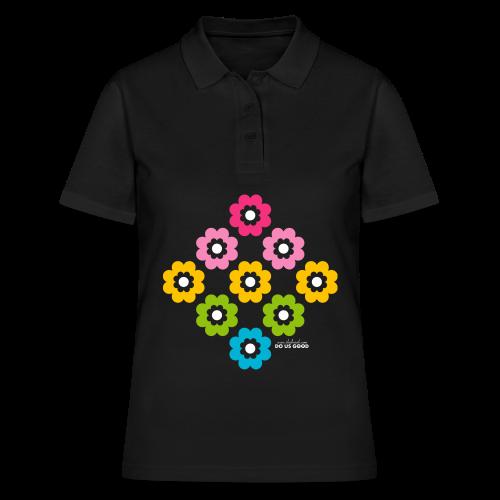 RAINBOW BLOOM - Women's Polo Shirt