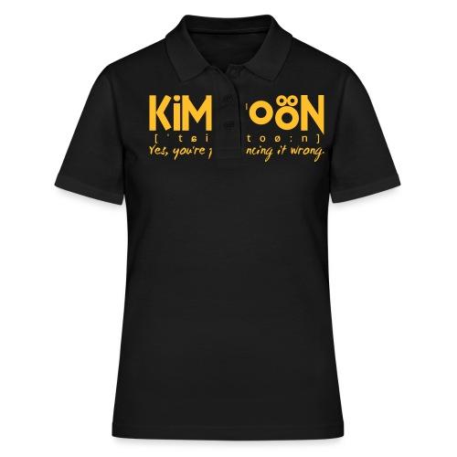Kimitoön: yes, you're pronouncing it wrong - Women's Polo Shirt