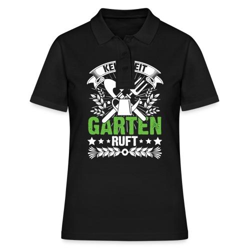 Keine Zeit der Garten ruft - Frauen Polo Shirt