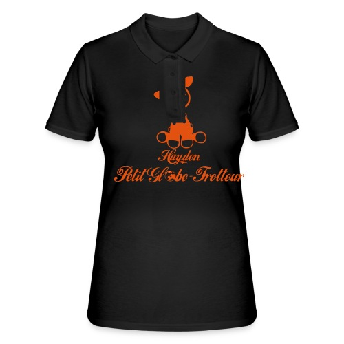 Hayden petit globe trotteur - Women's Polo Shirt