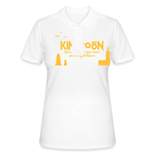 Kimitoön: two trees and a lighthouse - Women's Polo Shirt