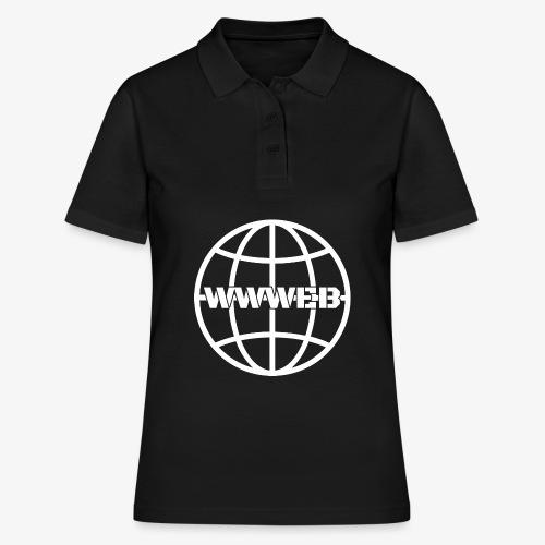 WWWeb (white) - Women's Polo Shirt