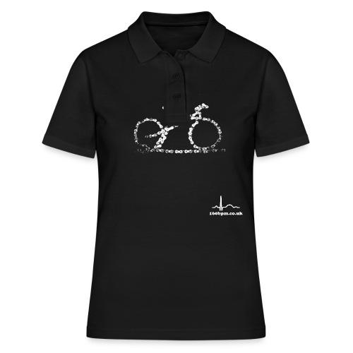 Cycling Bike Chain 160bpm.co.uk - Women's Polo Shirt