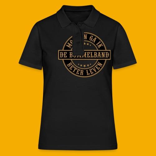 bb logo rond shirt - Women's Polo Shirt
