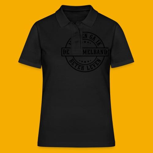 bb logo rond 2 - Women's Polo Shirt