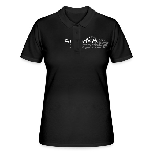 Logo Suprise Band mit Cut-Out - Frauen Polo Shirt