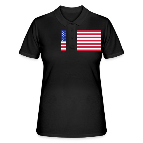 USA / United States - Women's Polo Shirt