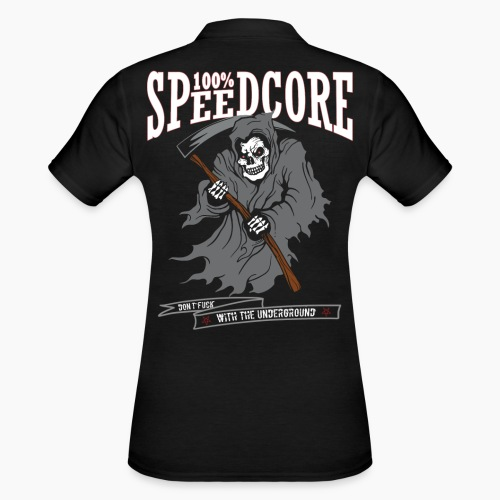 100% Speedcore - Don't F*ck With The Underground - Women's Polo Shirt