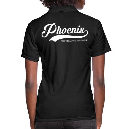 Phoenix Retro White - Frauen Polo Shirt