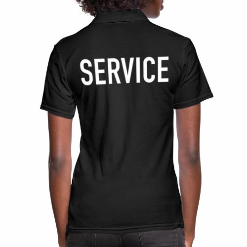 Service - Frauen Polo Shirt