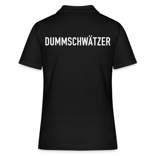 Dummschwätzer - Frauen Polo Shirt