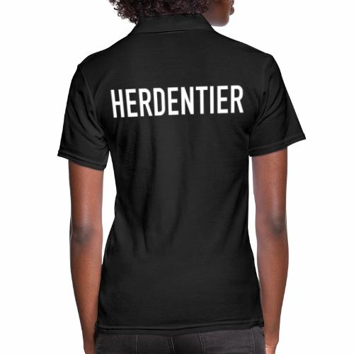 Herdentier - Frauen Polo Shirt