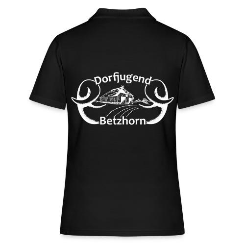 Dorfjugendlogo Betzhorn WEISS - Frauen Polo Shirt
