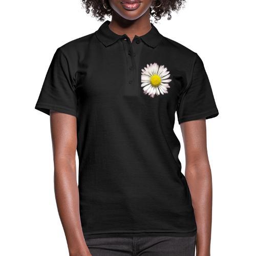 TIAN GREEN Garten - Gänse Blümchen - Frauen Polo Shirt