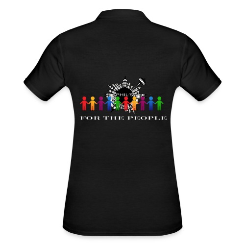 4 the People - Frauen Polo Shirt