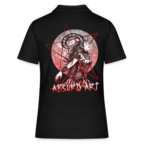Lilith von Absurd ART - Frauen Polo Shirt