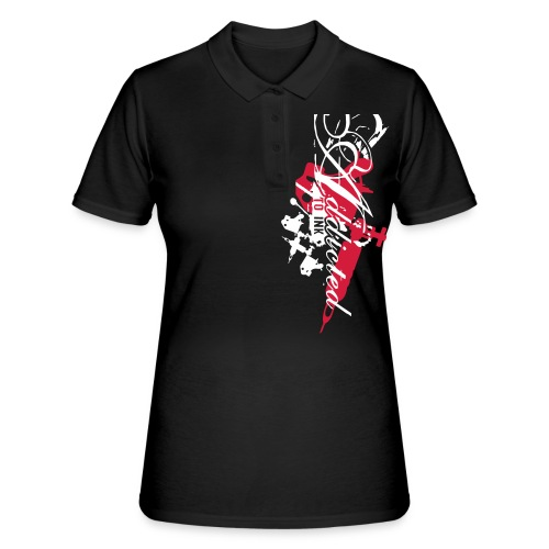 addicted - Frauen Polo Shirt