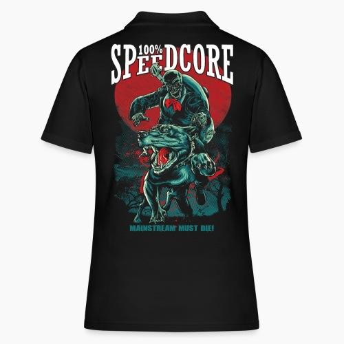 100% Speedcore - Mainstream Must Die! - Women's Polo Shirt