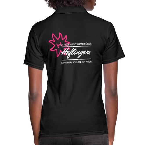 T-Shirt Spruch Haflinger - Frauen Polo Shirt