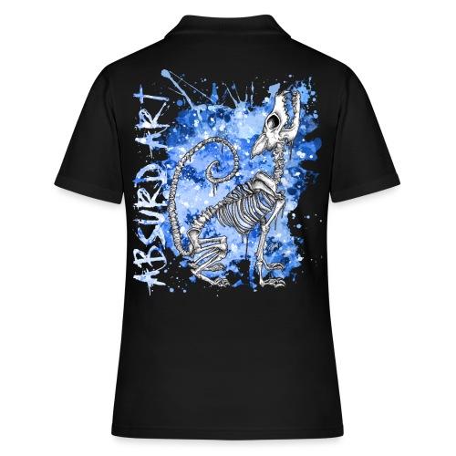 Knochentierchen Wolf von Absurd ART - Frauen Polo Shirt