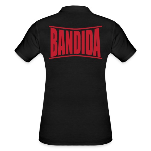 bandida t shirt design text design gift idea - Women's Polo Shirt