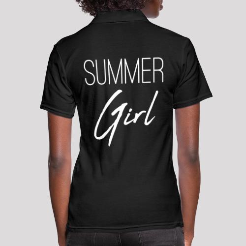 Summer Girl - Das Motiv für den Sommer - Frauen Polo Shirt