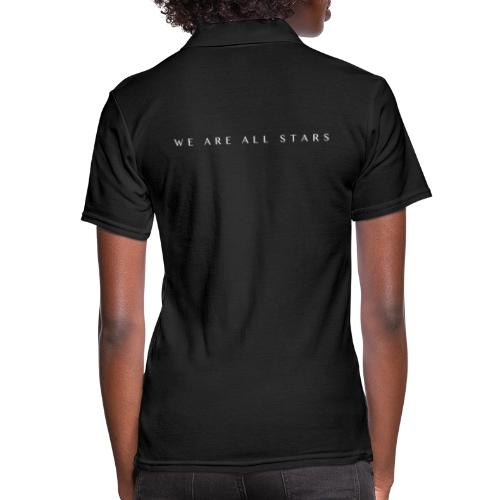 Galaxy Music Lab - We are all stars - Poloshirt dame