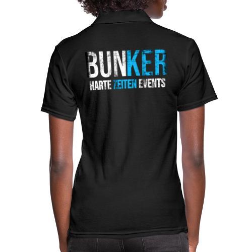Bunker & Harte Zeiten Supporter - Frauen Polo Shirt