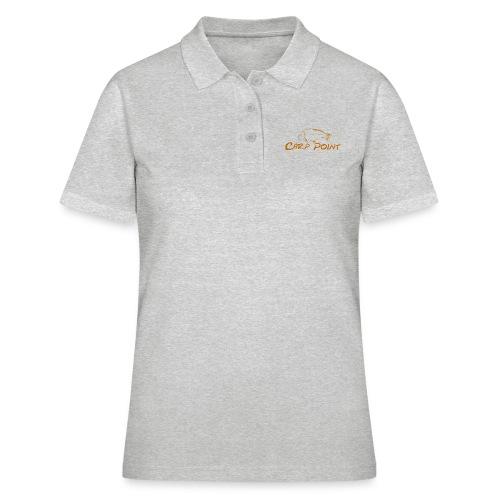 Carp-Point-orange-big - Frauen Polo Shirt