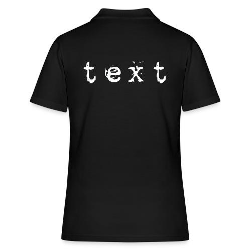 text - Frauen Polo Shirt
