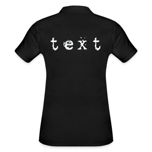 text - Frauen Polo Shirt