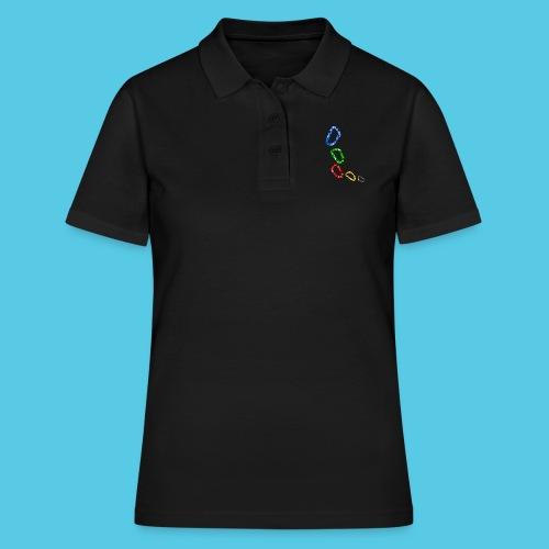 Karabiner - Frauen Polo Shirt
