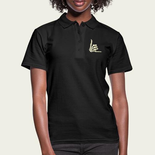 Skull hand wazaa - Women's Polo Shirt