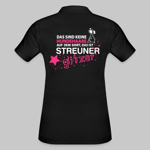 Streuner Glitzer - Frauen Polo Shirt