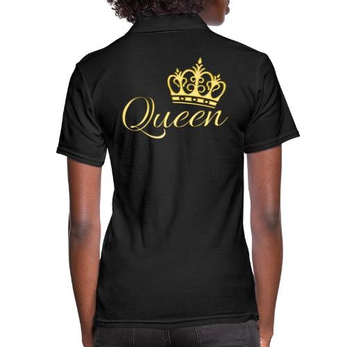 Queen Or -by- T-shirt chic et choc - Polo Femme