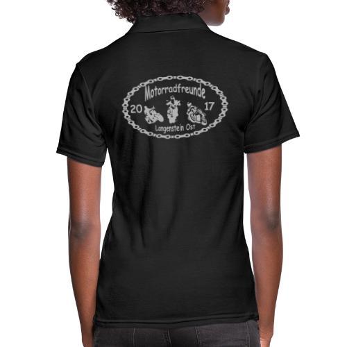 Motorradfreunde silber - Frauen Polo Shirt