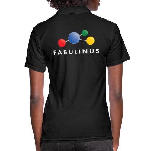 Fabulinus logo enkelzijdig - Vrouwen poloshirt